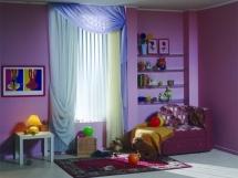 выбор дизайна цвета рисунка узора штор для детской комнаты