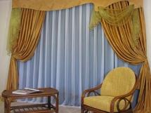 стильные и красивые шторы в гостиную