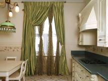 шторы для кухни столовой фото