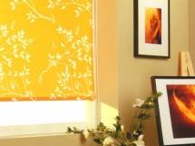 стильные рулонные кухонные шторы