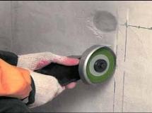 штробление стен под трубы кондиционера