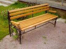 садовые скамейки для дачи фото
