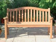садовые скамейки из дерева