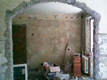 пробивка несущей стены