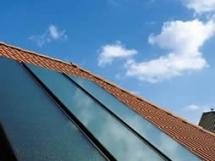 плоский солнечный коллектор фото