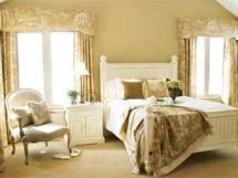 Оформление дизайна интерьера спальни в стиле прованс