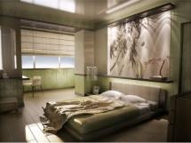 Фото спальни в восточном стиле интерьера