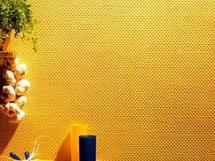 желтые стеклообои