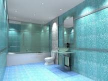 стекловолокнистые обои для ванной