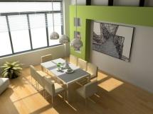 стеклохолст для стен на кухне
