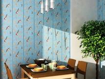 отделка кухни пластиковыми стеновыми панелями