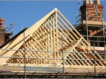 Строим дом сами, возведение крыши
