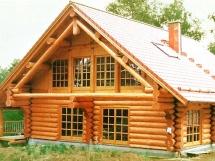 бревенчатые дома фото
