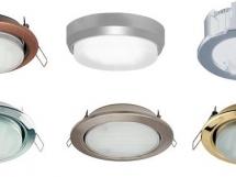 расположение точечных светельиников