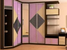фото встроенных шкафов купе