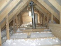 утепление крыши частного дома минватой своими руками