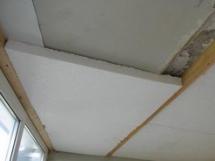 Утепление деревянного потолка пенопластом