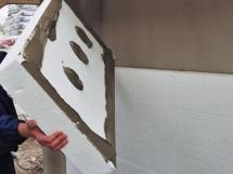 утепление дома пенопластом клей для пенопласта