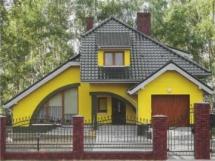 Цвет фасада дома, сочетание цветов