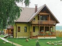 Выбор цвета дома, сочетание цветов для крыши и дома