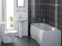 оформление интерьера ванной в хрущевке