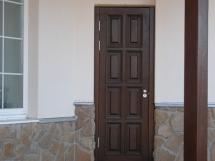 Как становить входные двери своими руками