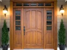 входные деревянные двери в квартиру фото