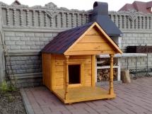 изготовление будки для собаки
