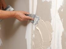 выравнивание стен гипсокартоном своими руками, шпаклевка стен