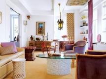 Удачное зонирование гостиных в фотографиях