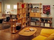 Правила зонирования однокомнатной квартиры