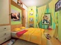 Зонирование спальни фото, примеры удачного разделения пространства