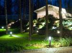 Уличные светильники в ландшафтном дизайне