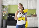 Подготовка к уборке кухни