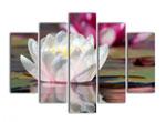 Модульная картина с изображением цветка