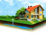 Артезианская скважина для водоснабжения дома