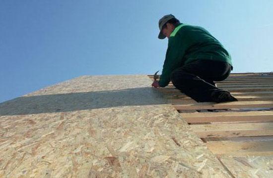 Монтаж обрешетки на крыше